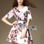 Lady Ribbon Korea Lady Ribbon's Made &#x1F380 Lady Abigail Feminine Spring Floral Printed Dress Korea thumbnail 4