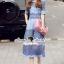 Closet Seoul Secret Say's... Pastel Violata Bluely Layer Lace Playsuit thumbnail 3