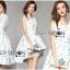 Lady Ribbon Dress LR09300516 &#x1F380 Lady Ribbon's Made &#x1F380 Lady Vanessa Pretty Sweet Reindeer Embroidered Pleated Dress เดรส thumbnail 1