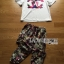 Lady Ribbon's Made &#x1F380 Chanel Vivid Floral Printed T-Shirt and Floral Printed Slouchy Pants Korea Set thumbnail 10