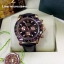 Rolex Cosmograph Daytona - Brown Dial Brown Bezel 3 encounter and Leather Strap thumbnail 2