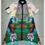 Lady Ribbon Korea Closet SW10060616 Sweet Bunny Present... Peacock Printing Shirt Dress thumbnail 5