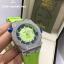 Audemars Piguet Royal Oak Offshore 15710 ST - Green Dial thumbnail 2