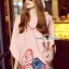 Lady Ribbon Korea SS 03060616 Seoul Secret Say's... Lizzy Pink Butterfly Tail Blouse thumbnail 2