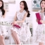 Lady Closet Organza dress three-dimensional flowers dress by Aris Code Ribbon thumbnail 1