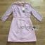 Lady Ribbon Korea LR08230516 &#x1F380 Lady Ribbon's Made &#x1F380 Lauren Holiday Look Guipure Lace Dress in Pin thumbnail 5