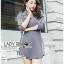 Lady Ribbon Korea Printed Mini Dress thumbnail 6