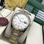 Rolex Oyster Perpetual Datejust 41 two tone Basel 2017 - White Dial thumbnail 2