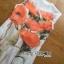 Lady Ribbon's Made &#x1F380 Lady Kimberley Smart Casual Holiday Orange Flower Printed Chiffon thumbnail 9