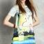 Lady Ribbon Korea Brand SW09060616 Sweet Bunny Present... Flamingo Dress thumbnail 2
