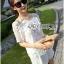 Lady Ribbon Dress Lady Ribbon Korea LR21190516 &#x1F380 Lady Ribbon's Made &#x1F380 Lady Paule Mini Flower Embroidered Organza and Chiffon White Set thumbnail 6