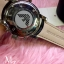 Emporio Armani Oversize Gents Chronograph Watch, Black Dial, Black Leather Strap thumbnail 5