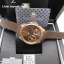 Tag Heuer Grand Carrera Pendulum - Rose Gold and Brown Strap thumbnail 1