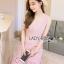 Lady Ribbon Korea Dress LR 07060616 &#x1F380 Lady Ribbon's Made &#x1F380 Lady Aerin Feminine Pastel Ruffled Lace Mini Dress thumbnail 4