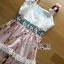 &#x1F380 Lady Ribbon's Made &#x1F380 Gucci Sweet Bohemian Printed Layered Maxi Dress thumbnail 7