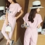 Brand Sevy Two Pieces Of Crop Blouse With Pants Suit Sets thumbnail 2