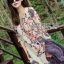 Lady Ribbon Dress Korea Printed Dress เดรส thumbnail 3