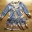 &#x1F380 Lady Ribbon's Made &#x1F380 Lady Chiara Casual Boho Chic Printed Viscose Dress เ thumbnail 5