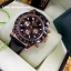 Rolex Cosmograph Daytona - Brown Dial Brown Bezel 3 encounter and Leather Strap thumbnail 1