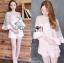 Lady Ribbon Korea Lady Ribbon's Made &#x1F380 Lady Abigail Feminine Spring Floral Printed Dress Korea Playsuit thumbnail 6