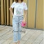 Lady Ribbon Korea Closet SB 07300516 Sweet Bunny Present... Rabbit Jeans Set thumbnail 3