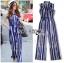 Lady Ribbon Korea LB12160516 &#x1F380 Lady Ribbon's Made &#x1F380 Lady Sophie Smart Casual Vibrant Striped Jumpsuit thumbnail 5