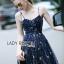 Lady Ribbon Korea Dress &#x1F380 Lady Ribbon's Made &#x1F380 Lady Gabriella Glittery Stars Tulle Mini Dress มินิเดรส thumbnail 3