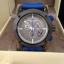 New Burberry Sport Chronograph Grey Dial Blue Rubber Men's Watch BU7706 thumbnail 2