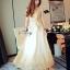 Lady Ribbon Sevy SV03290516 &#x1F389Sevy Golden Edge Sleeveless Vintage Maxi Dress thumbnail 2