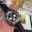 Breitling 1884 Chronomat Black Dial and Leather Strap Ref # AB0110 thumbnail 4