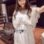 Lady Ribbon Korea Dress &#x1F380 Lady Ribbon's Made &#x1F380 Lady Hannah Sweet Sensual Butterfly Lace Mini Jumpsuit thumbnail 3