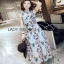 Lady Ribbon Korea Chiffon Sleeveless Maxi Dress thumbnail 4