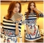 Lady Ribbon Korea Printed Dress thumbnail 3