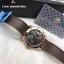 Tag Heuer Grand Carrera Pendulum - Rose Gold and Brown Strap thumbnail 3