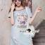 Closet Seoul Secret Say's... Pastel Vintage Tiggy Softly Denim Dress thumbnail 2