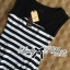 Lady Ribbon's Made &#x1F380 Lady Suzi Basic Chic Striped Mini Dress thumbnail 9
