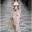 &#x1F380 Lady Ribbon's Made &#x1F380 Gucci Sweet Bohemian Printed Layered Maxi Dress thumbnail 5