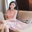 Lady Ribbon Dress Mini Dress Pink Dress thumbnail 1