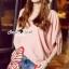 Lady Ribbon Korea SS 03060616 Seoul Secret Say's... Lizzy Pink Butterfly Tail Blouse thumbnail 4