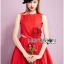lady ribbon korea LB15160516 &#x1F380 Lady Ribbon's Made &#x1F380 Lady Lara Sexy Scarlett Rose Embroidered Dress thumbnail 4