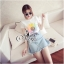 Brand Sevy Two Pieces Of Sunflower T-Shirt With Denim Skirt thumbnail 3