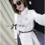 Lady Ribbon Korea Shirt Dress เชิ้ตเดรส thumbnail 5