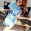 Lady Ribbon Korea Closet SB 15300516 Sweet Bunny Present... Jack Daniel's Shine Blue Eye Dress thumbnail 1