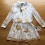 Lady Ribbon Korea Dress เชิ้ต LR20130616 &#x1F380 Lady Ribbon's Made &#x1F380 Lady Paula Feminine Butterfly Embroidered Silk Cotton Shirt Dress thumbnail 5