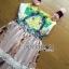 &#x1F380 Lady Ribbon's Made &#x1F380 Gucci Sweet Bohemian Printed Layered Maxi Dress thumbnail 6