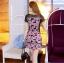 Lady Ribbon Korea Brand SW 05060616 Sweet Bunny Present... Daisy Pattern Dress thumbnail 2