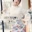 Lady Ribbon's Made &#x1F380 Lady Cara Feminine Flare-Sleeve Lace Blouse Korea Dress thumbnail 7