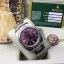 Rolex Oyster Perpetual Purple Dial Stick Hour thumbnail 3