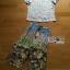 Lady Ribbon Korea LR12190516 &#x1F380 Lady Ribbon's Made &#x1F380 Lady Aimee Summer Casual Birdy Printed Jersey Cotton T-Shirt and Pants Set เซ็ตเสื้อทีเชิ้ต thumbnail 7