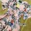 Lady Ribbon เสื้อผ้าเกาหลี LR04140716 &#x1F380 Lady Ribbon's Made &#x1F380 Gucci Sweet Natural Floral Printed Mini Pink Dress เดรสสีชมพูพิมพ์ลายดอกไม้ thumbnail 5